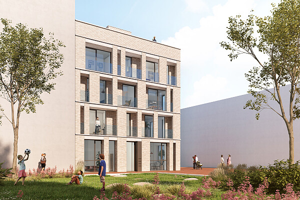Co-op housing Centrumeiland - Jan Bochmann Architecten